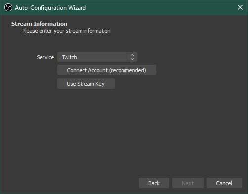 OBS Studio Auto-Configuration Wizard Step 3