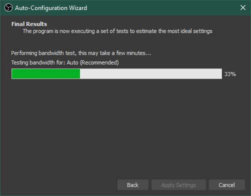 OBS Studio Auto-Configuration Wizard Step 5