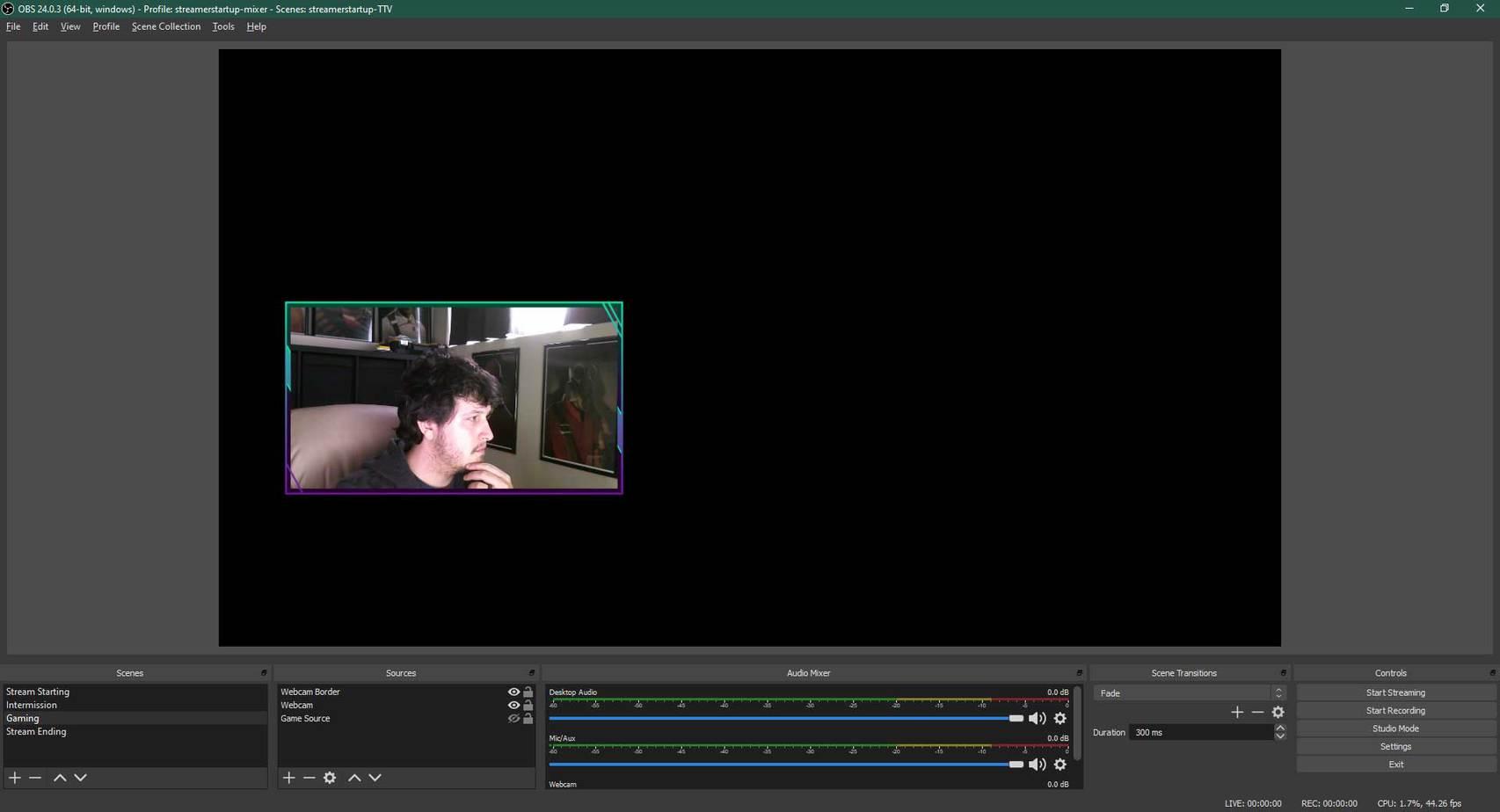 OBS Studio - Adding webcam overlay 2