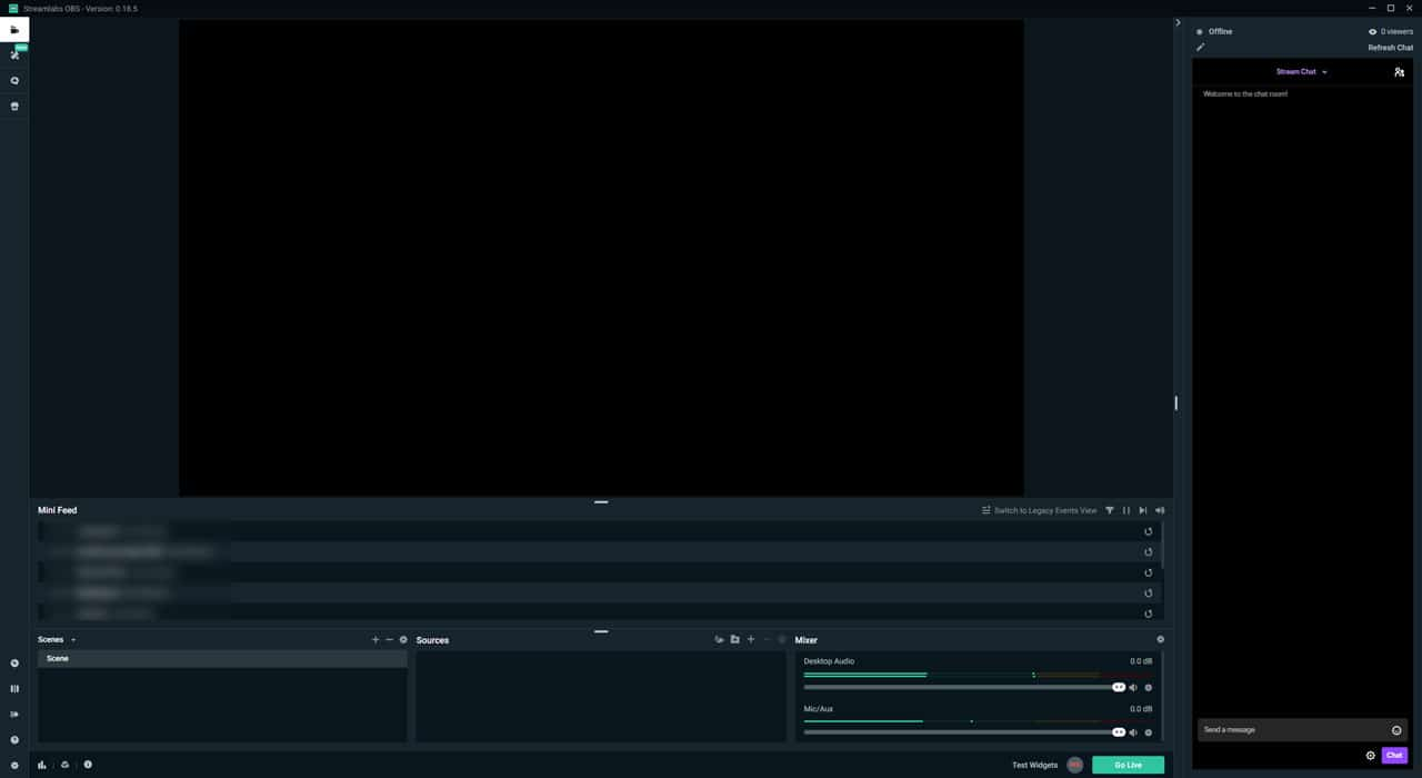 Streamlabs OBS features