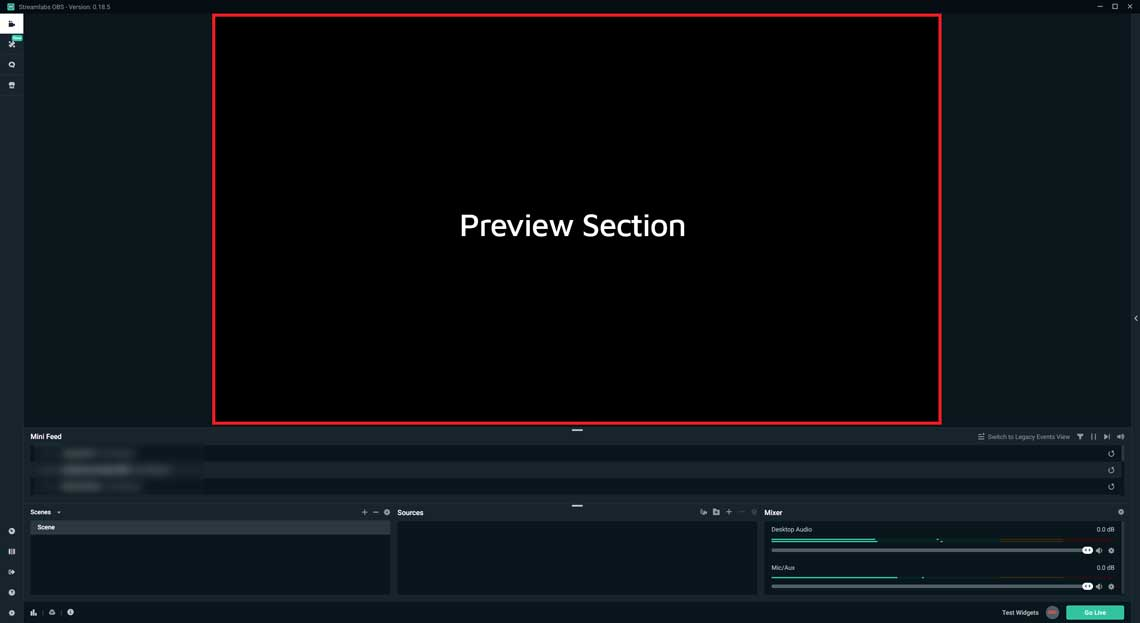 Streamlabs OBS Preview