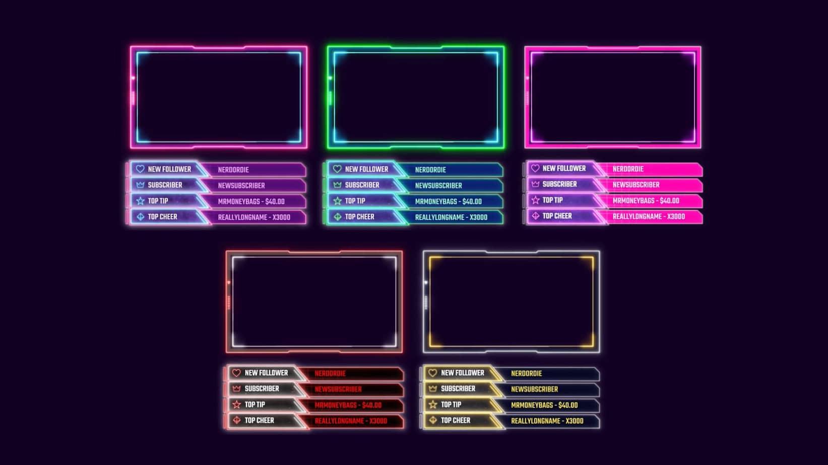 Retrowave All Colors