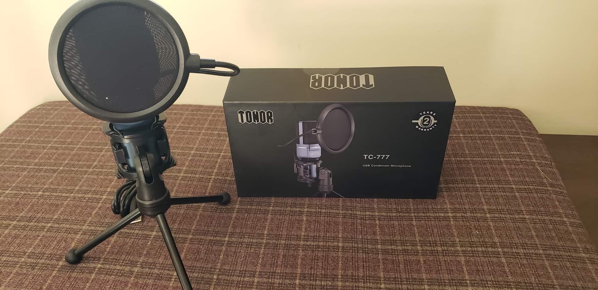 Tonor Microphone - TC-777 Setup
