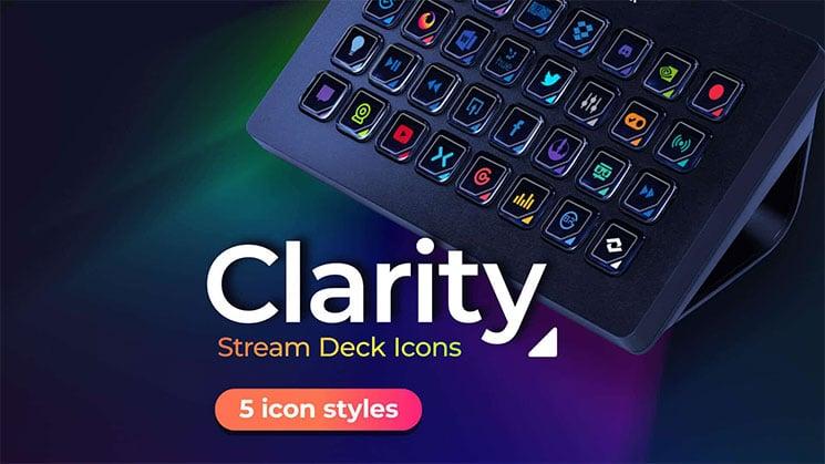 Clarity - Stream Deck Icons