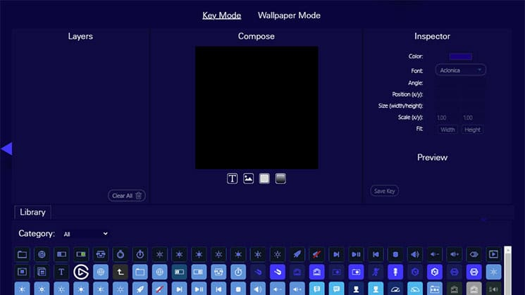Elgato Gaming Key Creator - Key Mode